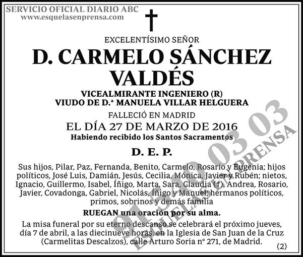 Carmelo Sánchez Valdés